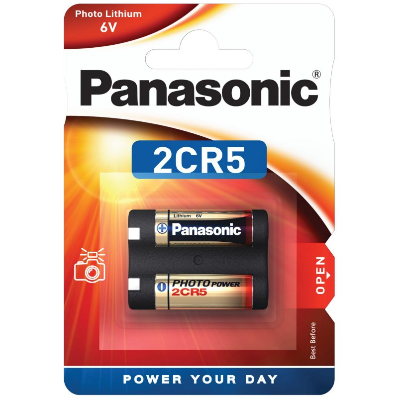 Panasonic 2CR5 Lithium Batterie