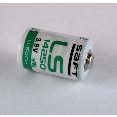 Saft LS 14250 (1/2AA) Lithium Thionylchlorid Batterie