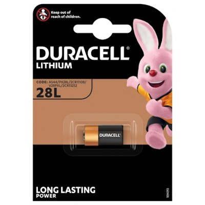 Duracell 28L (2CR1/3N) Lithium Batterie