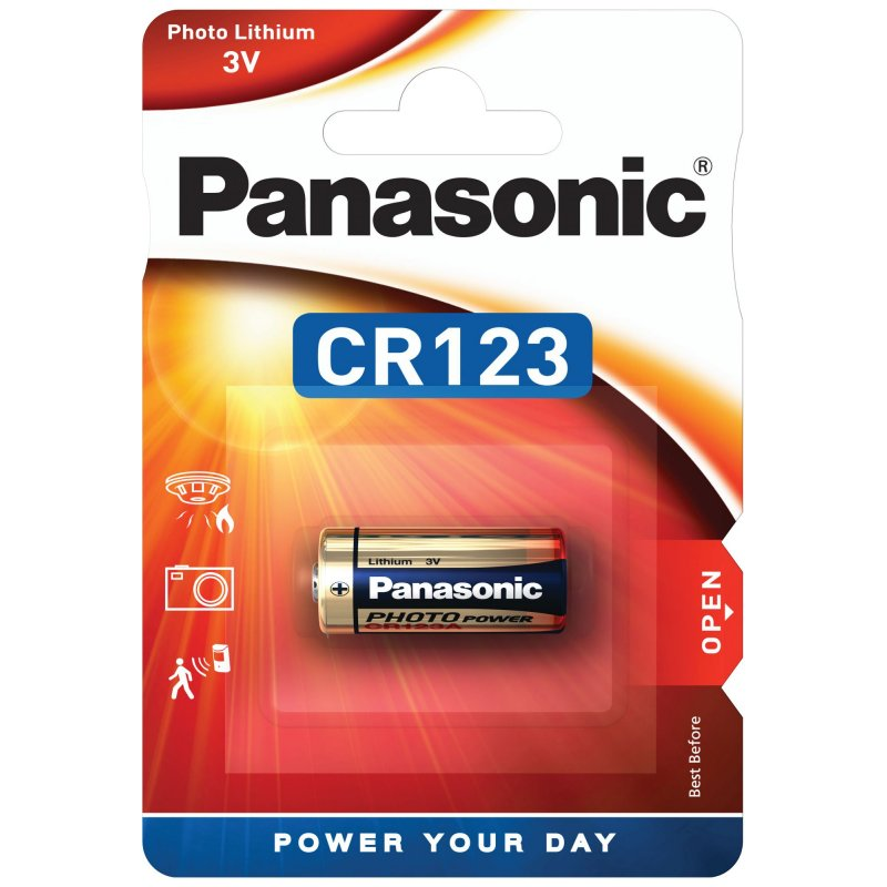 Panasonic CR123A 3 Volt