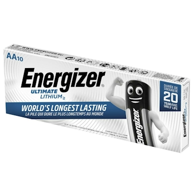 10x Energizer Ultimate Lithium AA Lithium Batterie