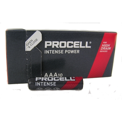 10x Procell Intense Power AAA Alkaline Batterie