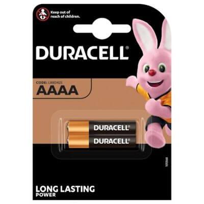 2x Duracell AAAA Alkaline Batterie