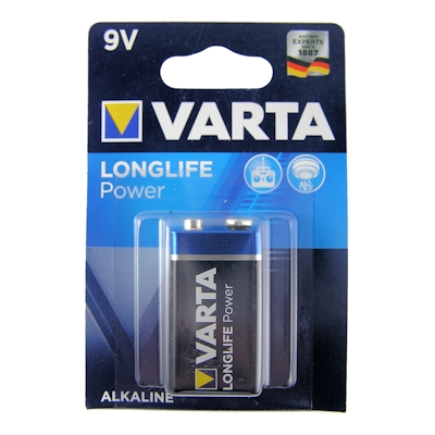 Varta High Energy 9V Block 9 Volt