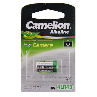 Camelion 4LR43 Alkaline Batterie