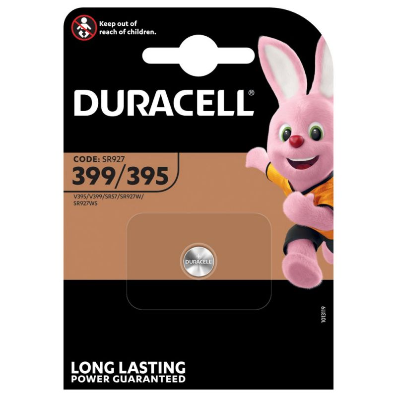 Duracell 399/395 Silberoxid Knopfzelle