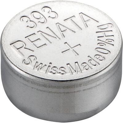 Renata 393 (SR754W) Uhrenbatterie Silberoxid Knopfzelle