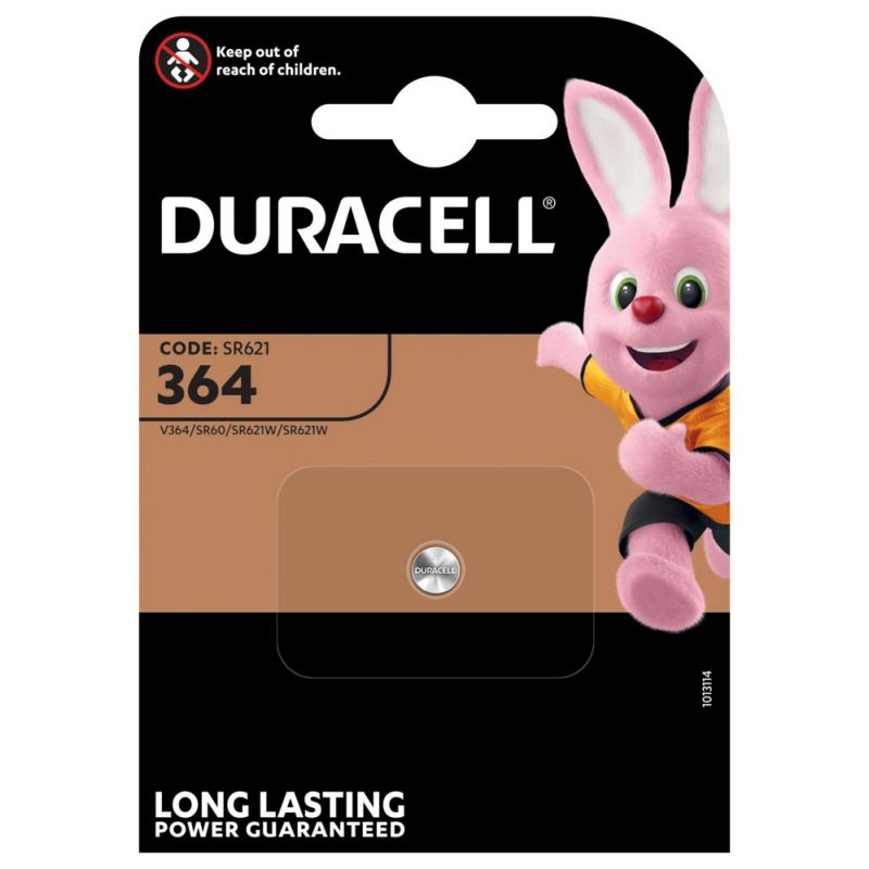 Duracell 364 Silberoxid Knopfzelle