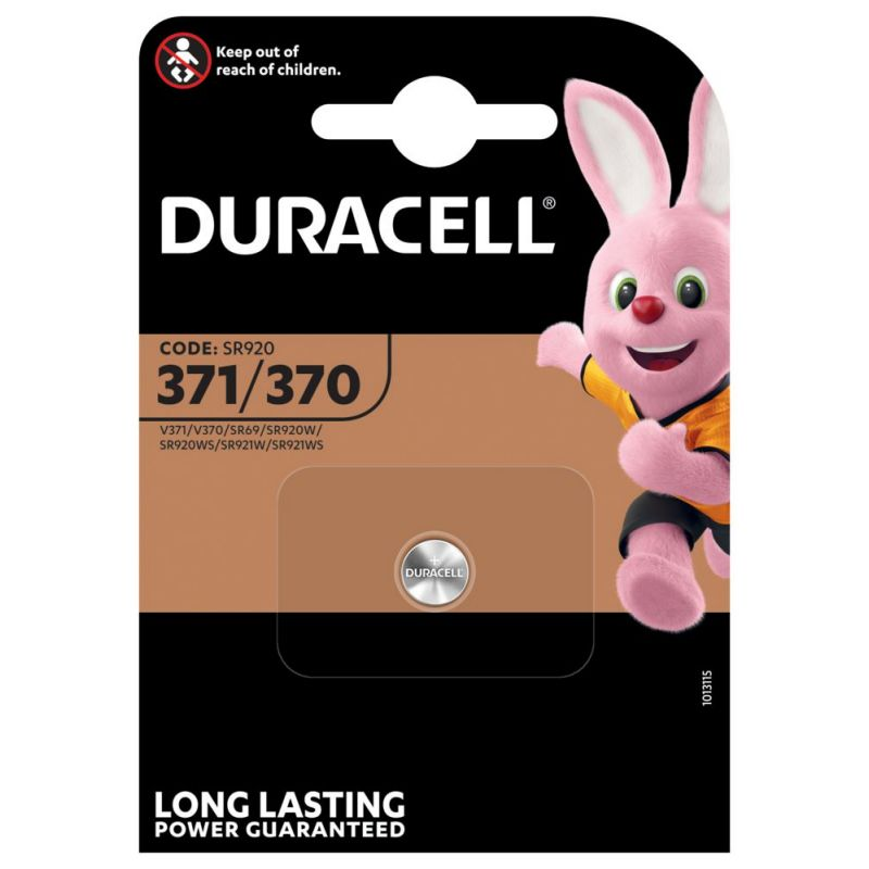 Duracell 371/370 Silberoxid Knopfzelle