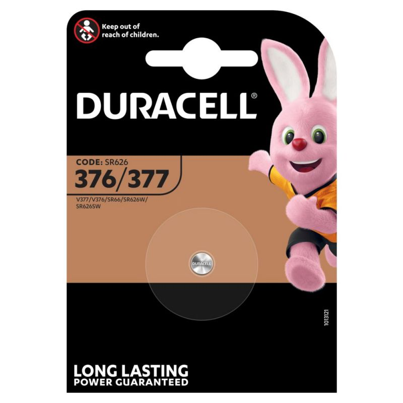Duracell 376/377 Silberoxid Knopfzelle