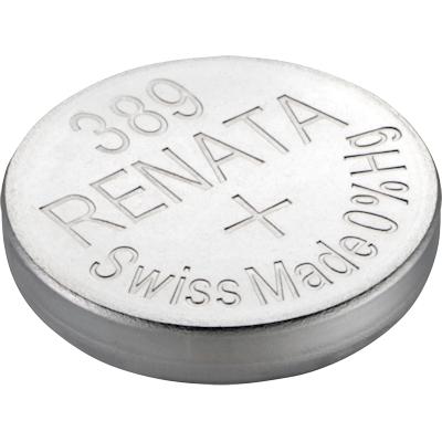 Renata 389 (SR1130W) Uhrenbatterie Silberoxid Knopfzelle