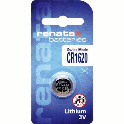 Renata CR1620 Lithium Knopfzelle