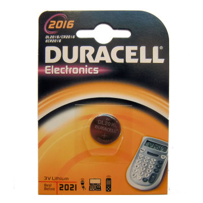 Duracell CR2016 Lithium Knopfzelle