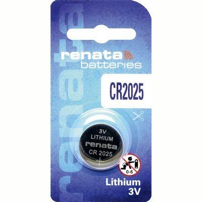 Renata CR2025 Lithium Knopfzelle