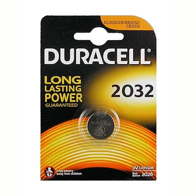 Duracell CR2032 Lithium Knopfzelle