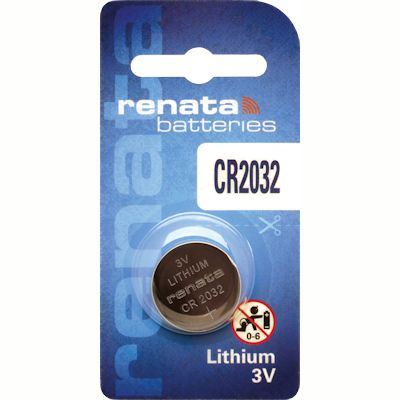 Renata CR2032 Lithium Knopfzelle