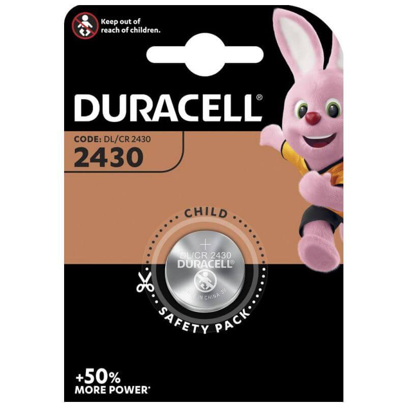 Duracell CR2430 Lithium Knopfzelle