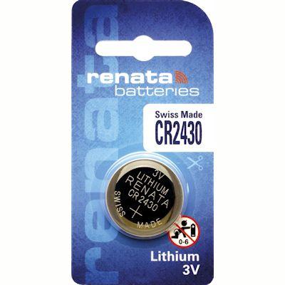 Renata CR2430 Lithium Knopfzelle