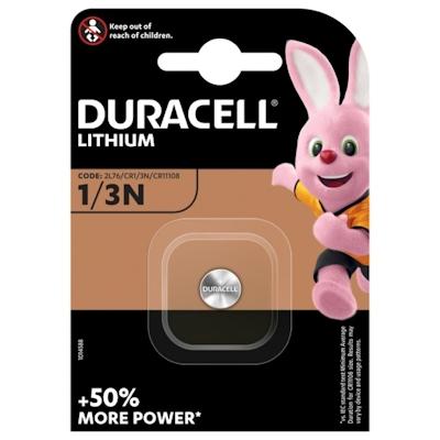 Duracell CR1/3N Lithium Knopfzelle