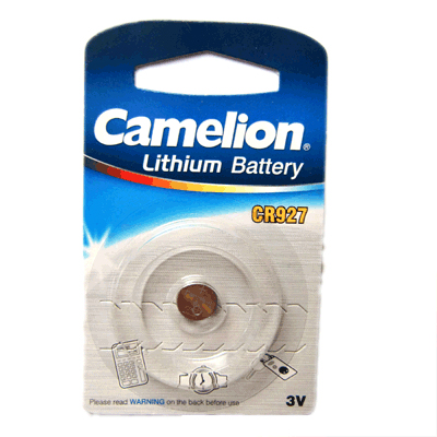 Camelion CR927 Lithium Knopfzelle