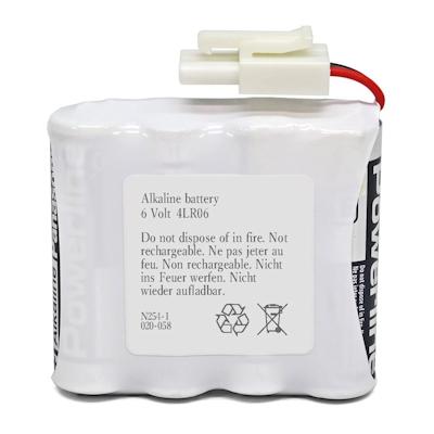 Batteriepack 6V kompatibel Safe-O-Pin 3850000.020 Alkaline Batterie