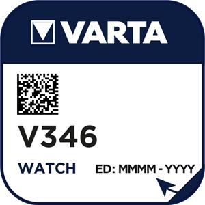 Varta 346 (V346) Uhrenbatterie Silberoxid Knopfzelle