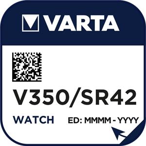 Varta 350 (V350) Uhrenbatterie Silberoxid Knopfzelle