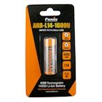 Fenix AA Li-Ion Akku 1600 USB 1.5 Volt