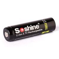 Soshine 18650 Li-Ion Akku 3400mAh 7A 3.6 Volt