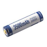 Keeppower 18650 Li-Ion Akku 3500mAh micro-USB 8A 3.6 Volt