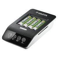 Varta LCD Ultra Fast Charger 57685 inkl. 4x AA Akkus 2100