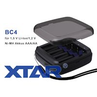 XTAR BC4 Ladegerät für 1,5V Li-Ion