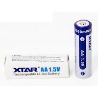 XTAR AA Li-Ion Akku 2000 mAh 1.5 Volt