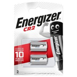 2x Energizer CR2 3 Volt