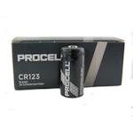10x Procell CR123 (Duracell) 3 Volt