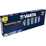 10x Varta Industrial Pro AA 1.5 Volt