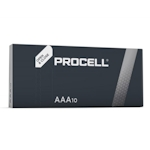 10x Procell AAA (Duracell Industrial) 1.5 Volt