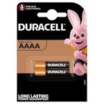2x Duracell AAAA 1.5 Volt