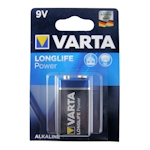 Varta Longlife Power 9V Block 9 Volt