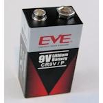 EVE 9V Lithium CR9V/P Rauchmelder Batterie 9 Volt