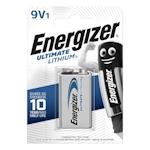 Energizer Ultimate Lithium 9V Block 9 Volt