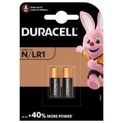 2x Duracell N (LR1) 1.5 Volt
