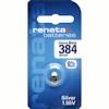 Renata 384 (SR41SW) Uhrenbatterie 1.55 Volt