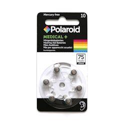 6x Polaroid 10 (gelb) Hörgerätebatterien 1.45 Volt