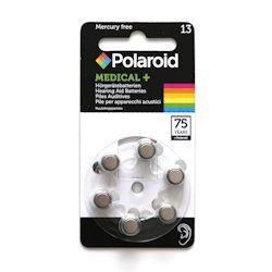6x Polaroid 13 (orange) Hörgerätebatterien 1.45 Volt
