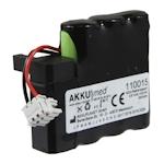 AKKUmed NC Akku kompatibel zu Braun Perfusor Compact 7.2 Volt