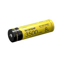 Nitecore 18650 Li-Ion Akku 3500mAh NL1835HP 8A 3.7 Volt