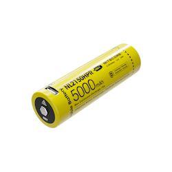 Nitecore 21700 Li-Ion Akku 5000mAh NL2150HPR USB 3.7 Volt