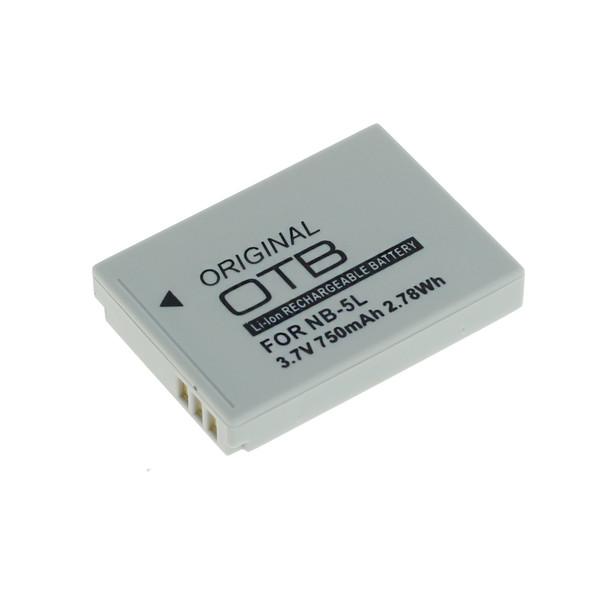 OTB Akku kompatibel zu Canon NB-5L Li-Ion 3.7 Volt