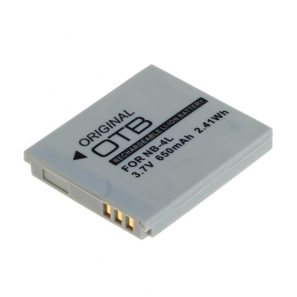 OTB Akku kompatibel zu Canon NB-4L Li-Ion 3.7 Volt